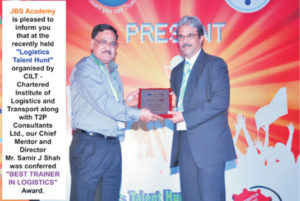 Gujarat's only recognised vocational institute providing training in logistics