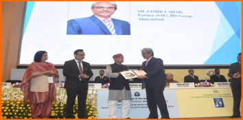 "Samir J. Shah, Partner JBS Group of Companies, conferred ""World Customs Organization (WCO) Certificate of Merit"" for his contribution to the International Customs Community"